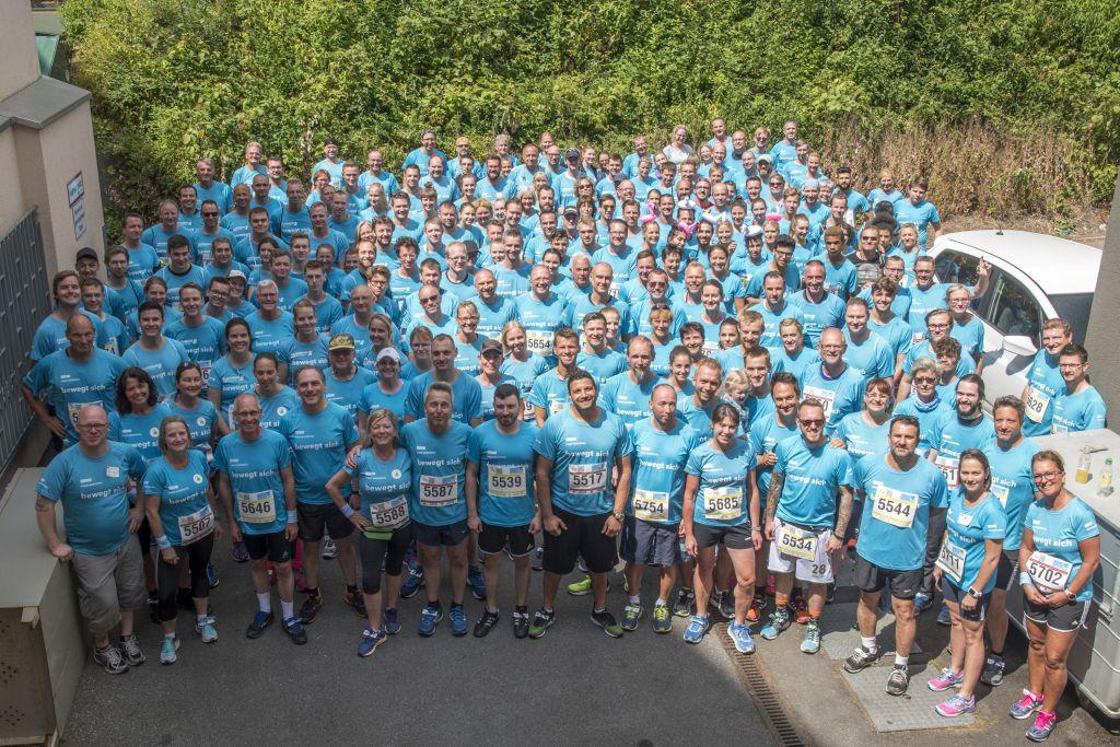 Schwebebahn-Lauf 2019 Teams